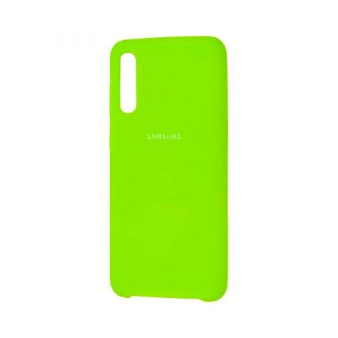 Чехол для Samsung Galaxy A50 (A505) / A30s (A307) / A50s (A507) Soft Touch Silicone Cover-Lime