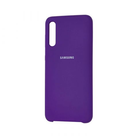 Чехол для Samsung Galaxy A50 (A505) Soft Touch Silicone Cover-Ultra Violet