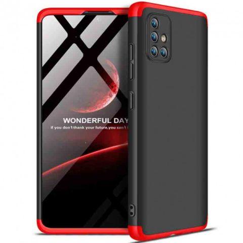 Чехол для Samsung Galaxy A51 (A515) GKK LikGus 360-Black/Red