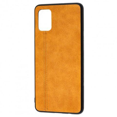 Чехол для Samsung Galaxy A51 (A515) Lava Line-Brown