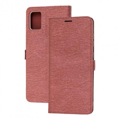 Чехол-книжка для Samsung Galaxy A51 (A515) Side Magnet-Bordo