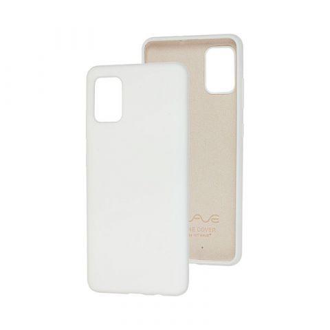Чехол для Samsung Galaxy A51 (A515) Wave Color Full-White