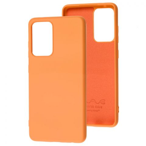 Силиконовый чехол для Samsung Galaxy A52 (A526) Wave Colorful-Peach