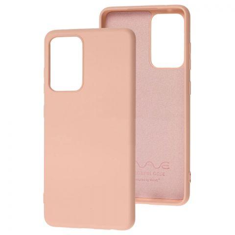 Силиконовый чехол для Samsung Galaxy A52 (A526) Wave Colorful-Pink Sand
