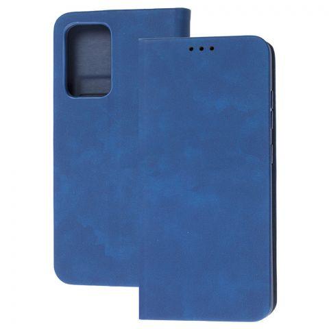 Чехол-книжка для Samsung Galaxy A52 (A526) Wave Flip-Blue