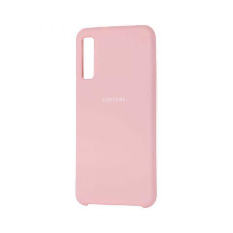 Чехол для Samsung Galaxy A7 2018 (A750) Silicone Cover-Pink Sand