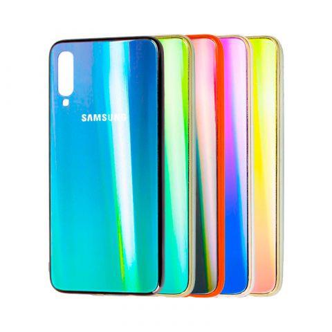 Чехол для Samsung Galaxy A70 (A705) Aurora Glass Logo