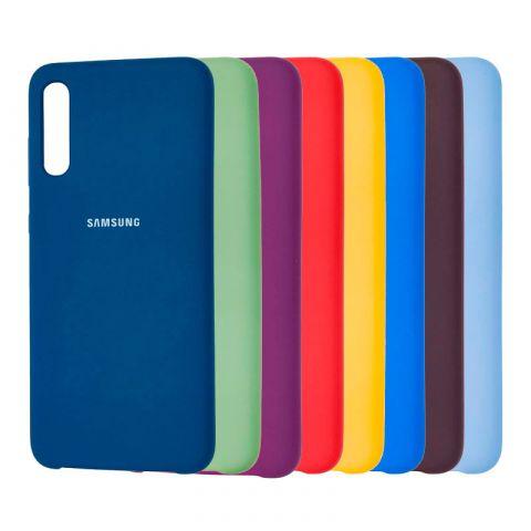 Чехол для Samsung Galaxy A70 (A705) Soft Touch Silicone Cover
