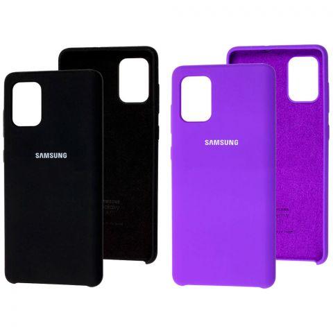 Силиконовый чехол для Samsung Galaxy A71 (A715) Soft Touch Silicone Cover