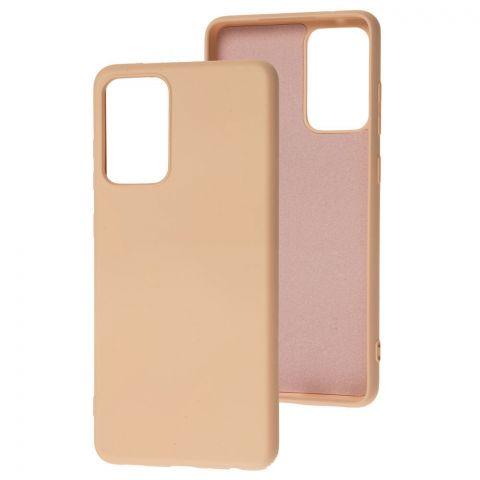 Силиконовый чехол для Samsung Galaxy A72 (A726) Wave Colorful-Pink Sand