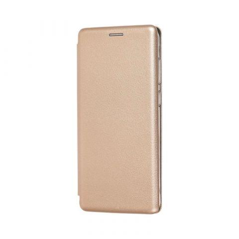 Чехол-книжка для Samsung Galaxy A9 2018 (A920) Premium-Gold