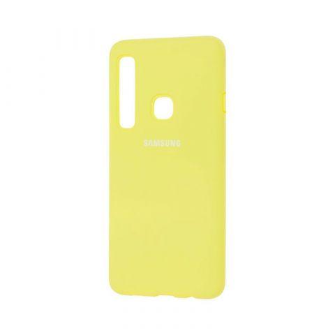 Чехол для Samsung Galaxy A9 2018 (A920) Silicone Full-Yellow