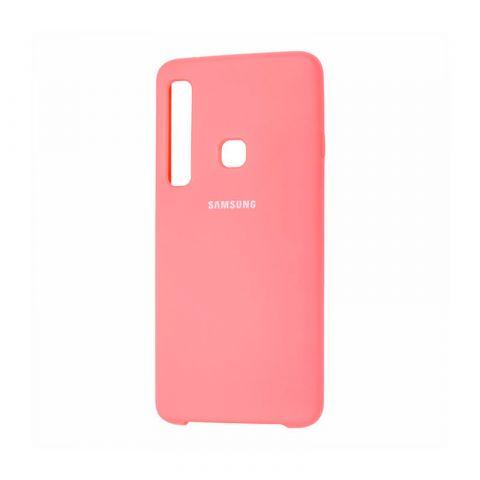Чехол для Samsung Galaxy A9 2018 (A920) Soft Touch Silicone Cover-Peach