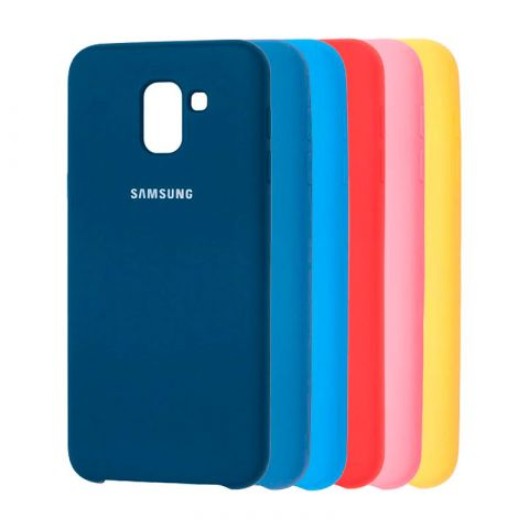 Чехол для Samsung Galaxy J6 2018 (J600) Soft Touch Silicone Cover
