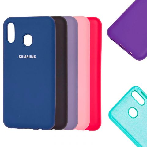 Чехол для Samsung Galaxy M20 (M205) Soft Touch Silicone Full