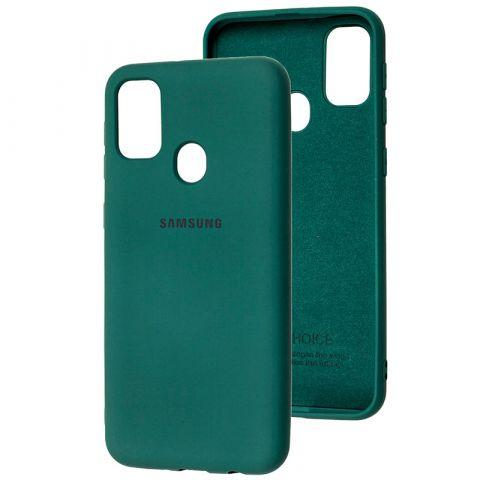 Чехол для Samsung Galaxy M30s (M307) / Galaxy M21 (M215) Silicone Full-Pine Green
