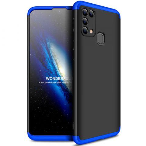 Чехол для Samsung Galaxy M31 (M315) GKK LikGus 360-Black/Blue