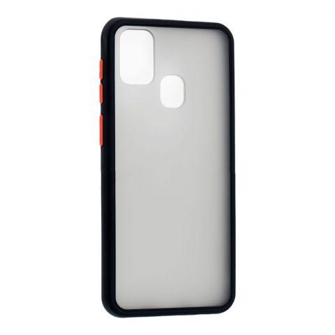 Чехол для Samsung Galaxy M31 (M315) LikGus Maxshield-Black/Red