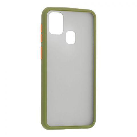 Чехол для Samsung Galaxy M31 (M315) LikGus Maxshield-Green