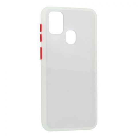 Чехол для Samsung Galaxy M31 (M315) LikGus Maxshield-White