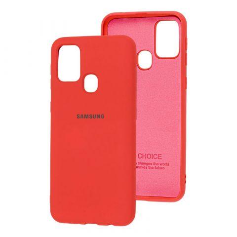 Чехол для Samsung Galaxy M31 (M315) Silicone Full-Coral