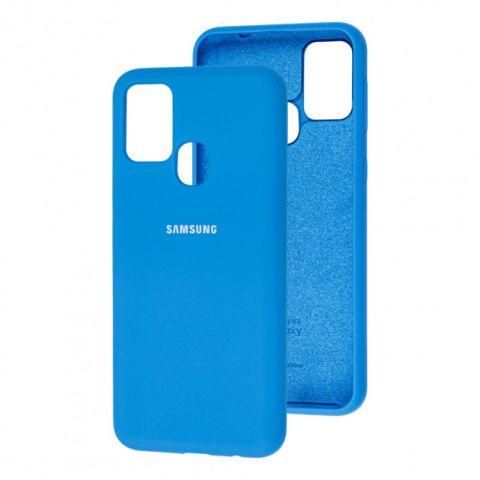 Чехол для Samsung Galaxy M31 (M315) Silicone Full-Light Blue