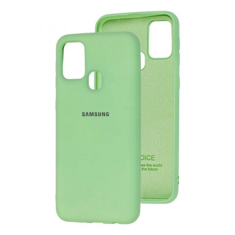 Чехол для Samsung Galaxy M31 (M315) Silicone Full-Mint