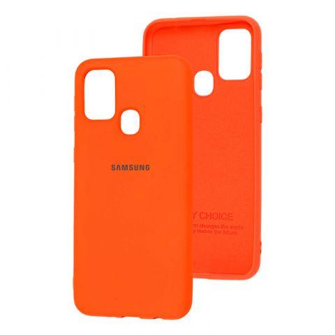 Чехол для Samsung Galaxy M31 (M315) Silicone Full-Orange