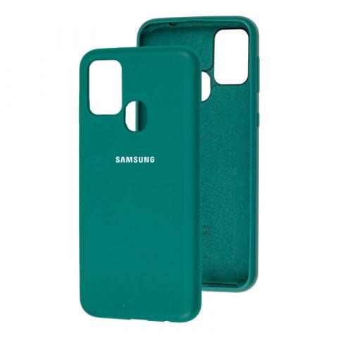 Чехол для Samsung Galaxy M31 (M315) Silicone Full-Pine Green