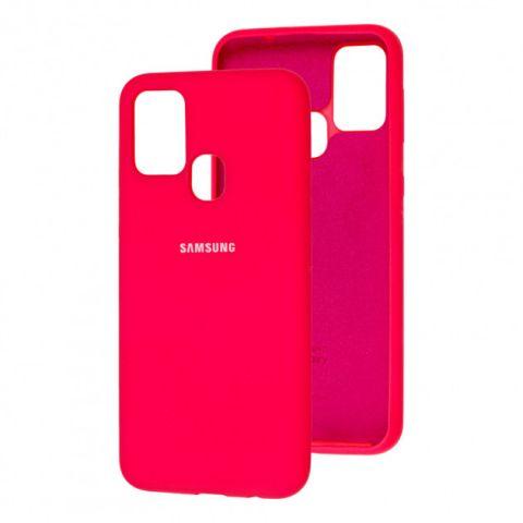 Чехол для Samsung Galaxy M31 (M315) Silicone Full-Red Raspberry