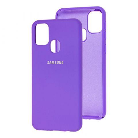 Чехол для Samsung Galaxy M31 (M315) Silicone Full-Violet