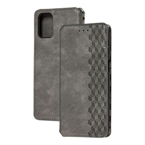 Чехол-книжка для Samsung Galaxy M31s (M317) Getman Cubic-Gray
