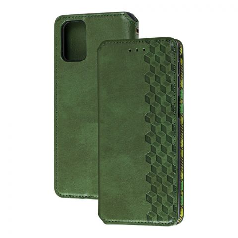 Чехол-книжка для Samsung Galaxy M31s (M317) Getman Cubic-Green
