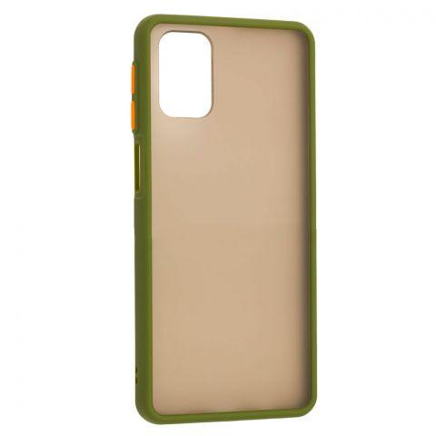 Чехол для Samsung Galaxy M31s (M317) LikGus Maxshield-Green