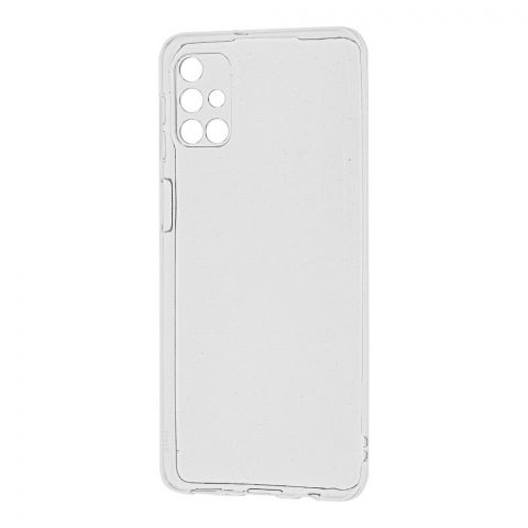 Чехол для Samsung Galaxy M31s (M317) Molan Cano глянец-Прозрачный
