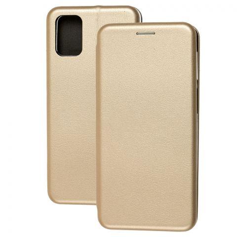 Чехол-книжка для Samsung Galaxy M31s (M317) Premium-Gold