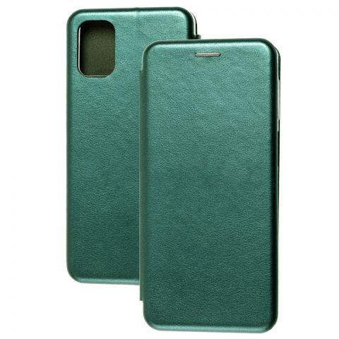 Чехол-книжка для Samsung Galaxy M31s (M317) Premium-Green