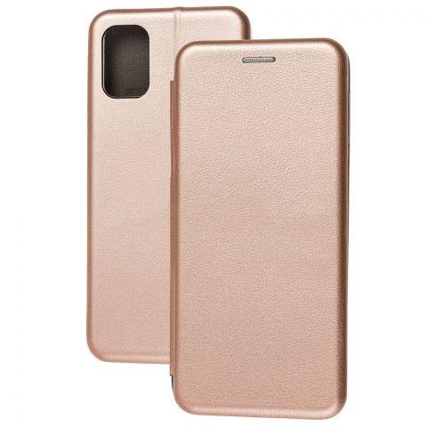 Чехол-книжка для Samsung Galaxy M31s (M317) Premium-Rose Gold