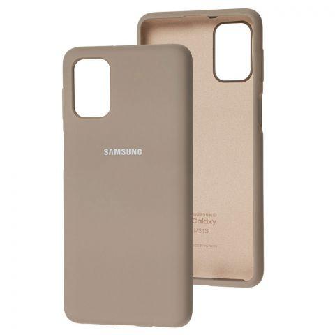 Силиконовый чехол для Samsung Galaxy M31s (M317) Silicone Full-Lavender