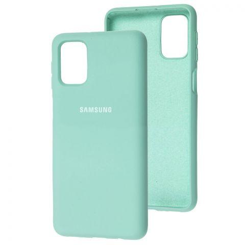 Силиконовый чехол для Samsung Galaxy M31s (M317) Silicone Full-Light Blue