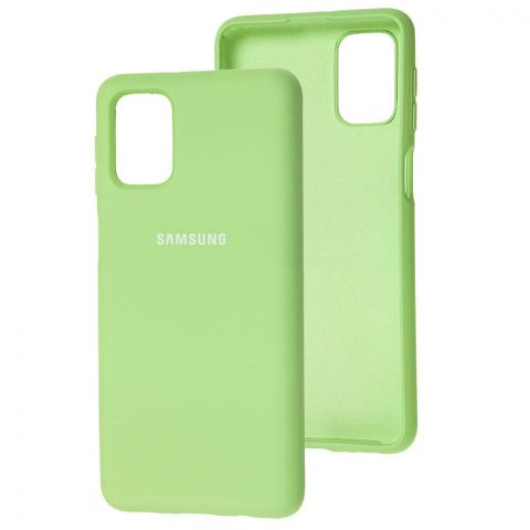 Силиконовый чехол для Samsung Galaxy M31s (M317) Silicone Full-Mint