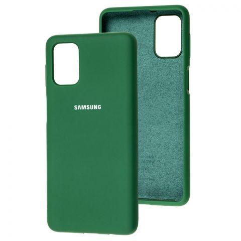 Силиконовый чехол для Samsung Galaxy M31s (M317) Silicone Full-Pine Green