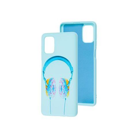 Силиконовый чехол для Samsung Galaxy M51 (M515) Art Case-Light Blue