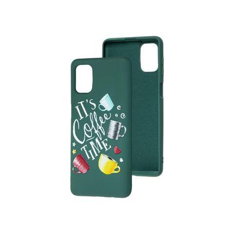 Силиконовый чехол для Samsung Galaxy M51 (M515) Art Case-Pine Green