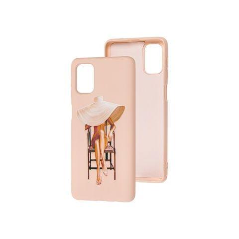 Силиконовый чехол для Samsung Galaxy M51 (M515) Art Case-Pink Sand