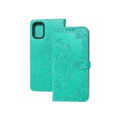Чехол-книжка для Samsung Galaxy M51 (M515) Art с визитницей-Turquoise
