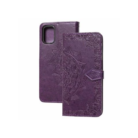 Чехол-книжка для Samsung Galaxy M51 (M515) Art с визитницей-Violet
