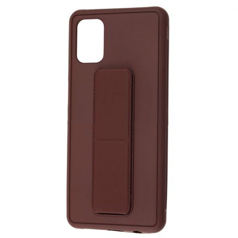 Чехол для Samsung Galaxy M51 (M515) Bracket-Brown