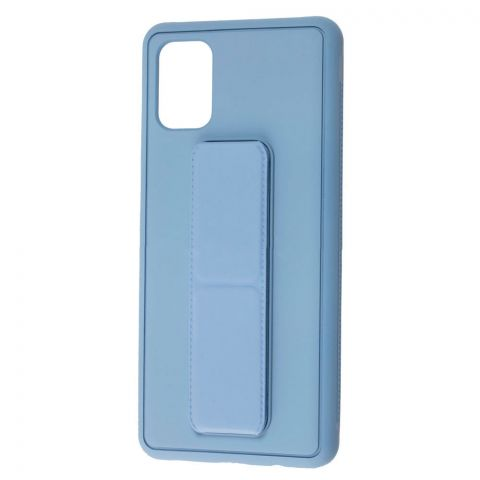 Чехол для Samsung Galaxy M51 (M515) Bracket-Light Blue