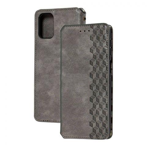 Чехол-книжка для Samsung Galaxy M51 (M515) Getman Cubic-Gray